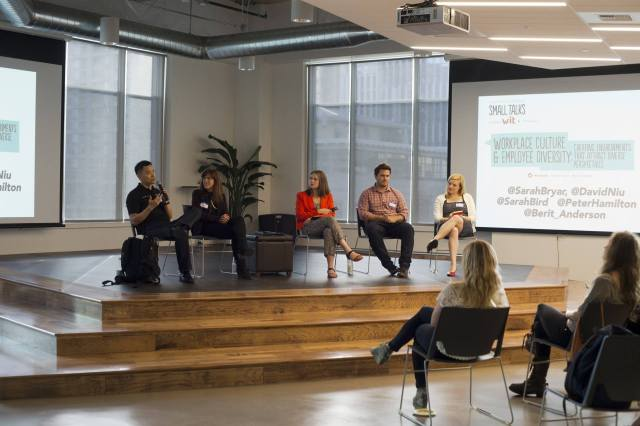 Small Talks: Work Place Culture & Employee Diversity